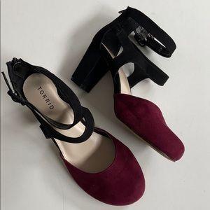 EUC Torrid heels